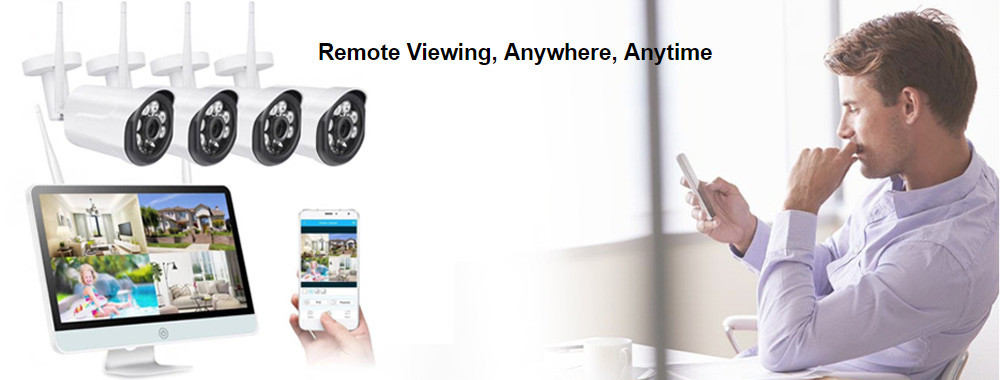 China best WiFi CCTV Camera Kit on sales