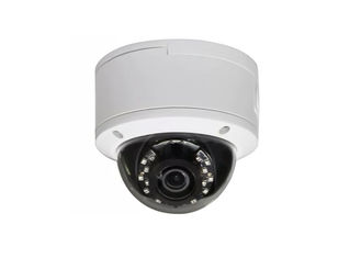 Waterproof 1080P Network IP Camera / White Wide Angle Cctv Dome Camera supplier
