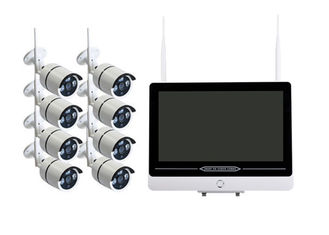 8 Channel Exterior WiFi CCTV Camera Kit With IR - CUT Double Filter Lens supplier