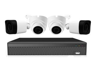 China Tvi Cvi Full Hd 1080p Ahd Camera Kit  Combo With 4ch Real Time Embedded Linux Xvr supplier