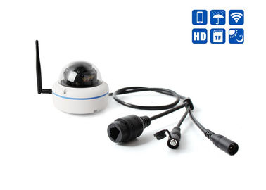 China Ip66 WiFi Surveillance Camera / 360 Fisheye Security Camera 15 Meters IR Distance supplier