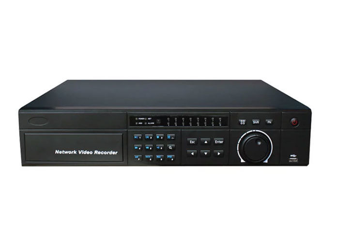 Face Detection NVR Network Video Recorder , 16CH Multifunction Ip Nvr Recorder