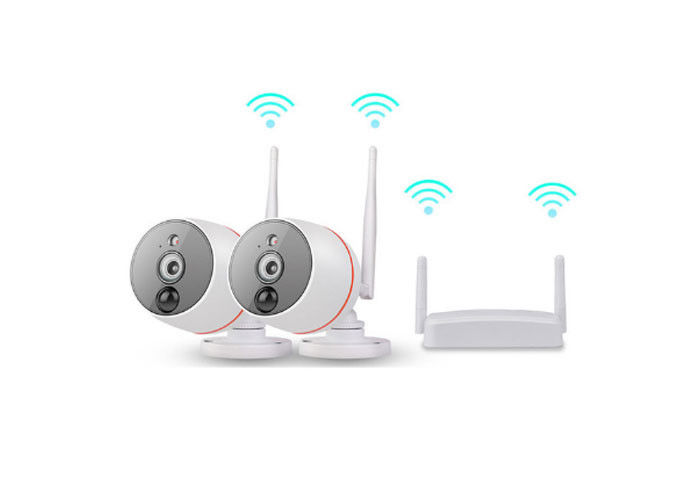 1080P Mini WiFi CCTV Camera Kit Support Motion Detection Support 128GB TF Card