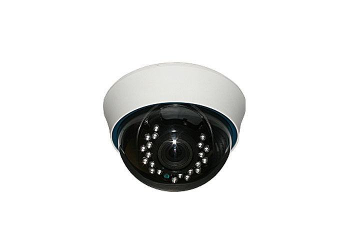 2MP Home Cctv Analog Dome Camera Support Coaxial Control With 18pcs LED Light
