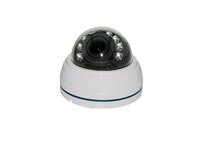 IP66 Analog HD CCTV Camera , 1080p Indoor Dome Security Camera 2MP 20M IR Range