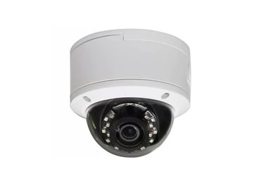 Waterproof 1080P Network IP Camera / White Wide Angle Cctv Dome Camera