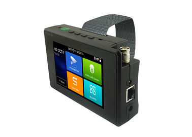 4K H.265 HD CCTV Tester , Portable Hd Cvi Test Monitor For Cctv Camera Testing