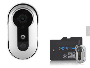 Wireless Video Doorbell With Monitor / Ring Doorbell Video Camera Support 32G TF Card