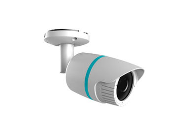 IP66 Network IP Camera 2MP , Infrared Bullet Security Camera Support Internal POE