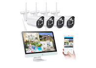 720P 4 channels WiFi CCTV Camera Kit 30 Meters IR Range Real Time Remote Monitoring